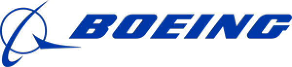 Logo of Boeing